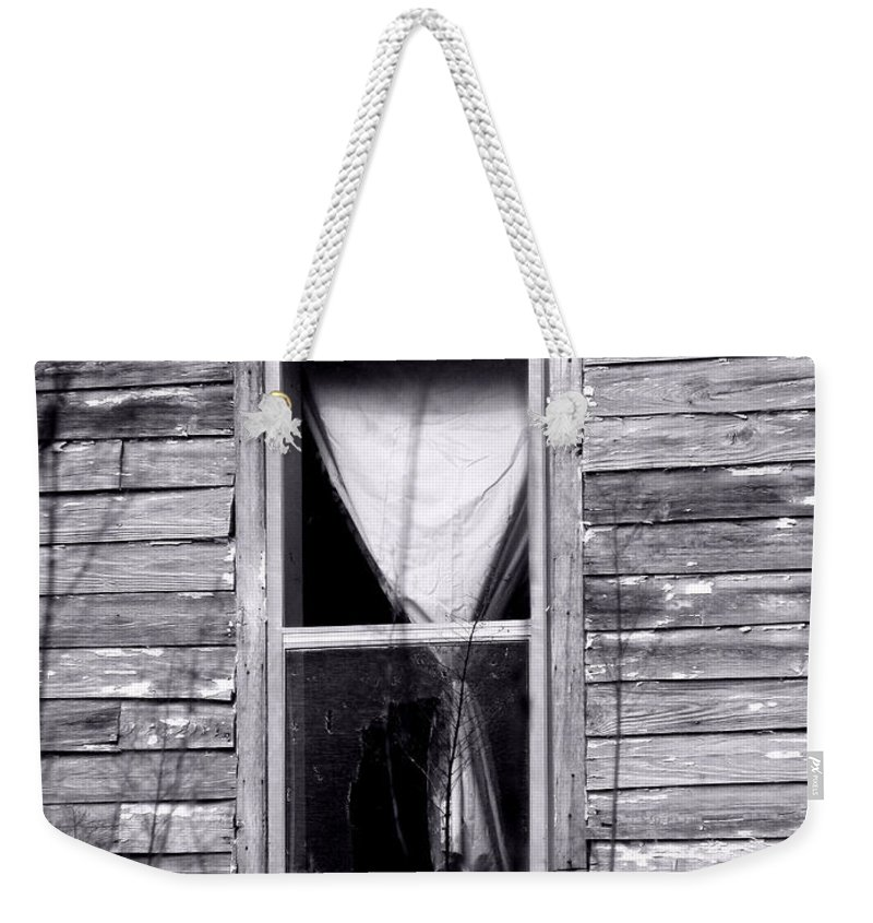 Windows Weekender Tote Bag featuring the photograph Window by Amanda Barcon