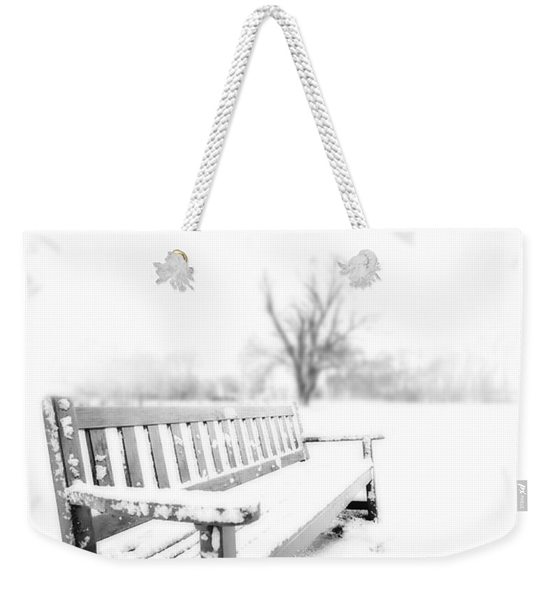 Winter Weekender Tote Bag featuring the photograph Winter Time by Svetlana Sewell