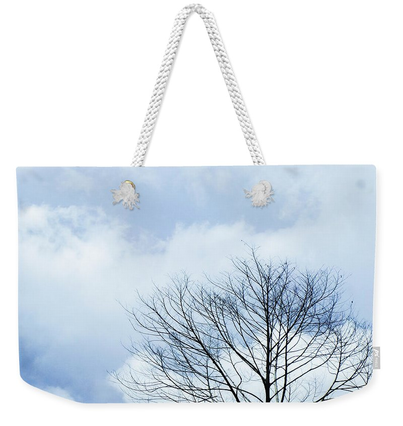 Winter Weekender Tote Bags
