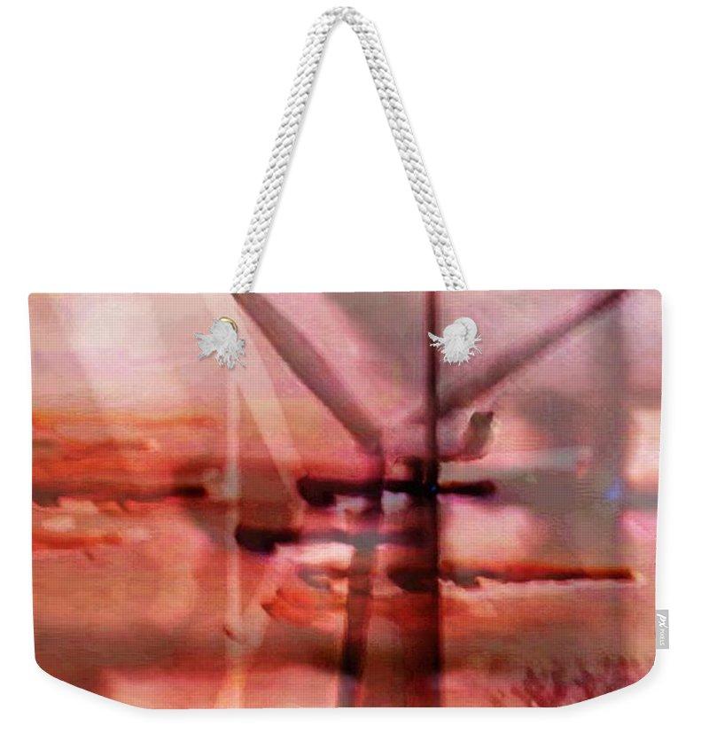 Art Digital Art Weekender Tote Bag featuring the digital art Wmillcb - Wind Power by Alex Porter