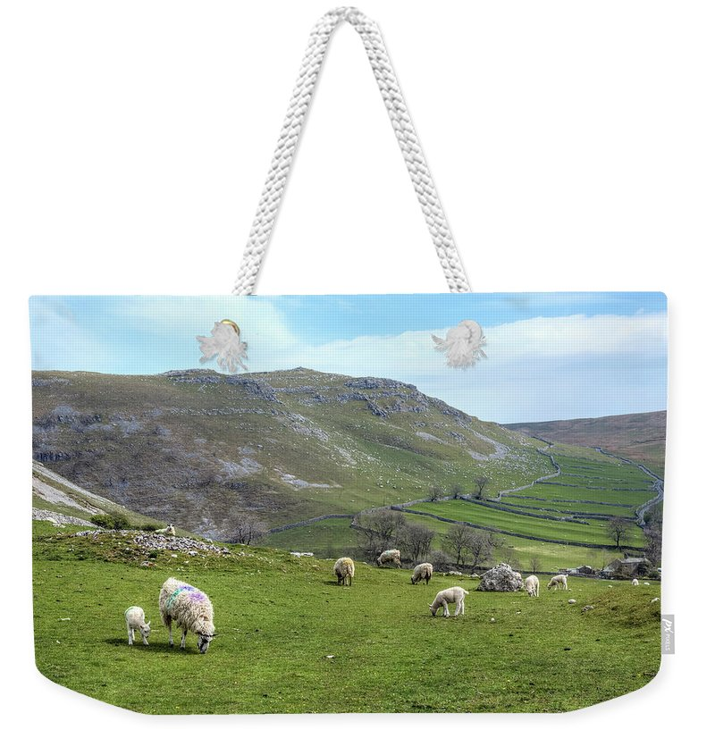 Malham Weekender Tote Bag featuring the photograph Yorkshire Dales - England by Joana Kruse