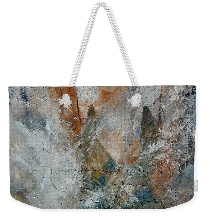 Girl Weekender Tote Bag featuring the painting Young Girl 679080 by Pol Ledent