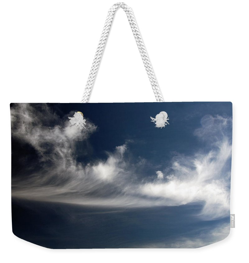 Clay Weekender Tote Bag featuring the photograph Clouds by Clayton Bruster