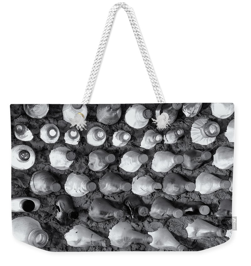 Soda Weekender Tote Bag featuring the photograph 100 Bottles On The Wall by Cindy Archbell