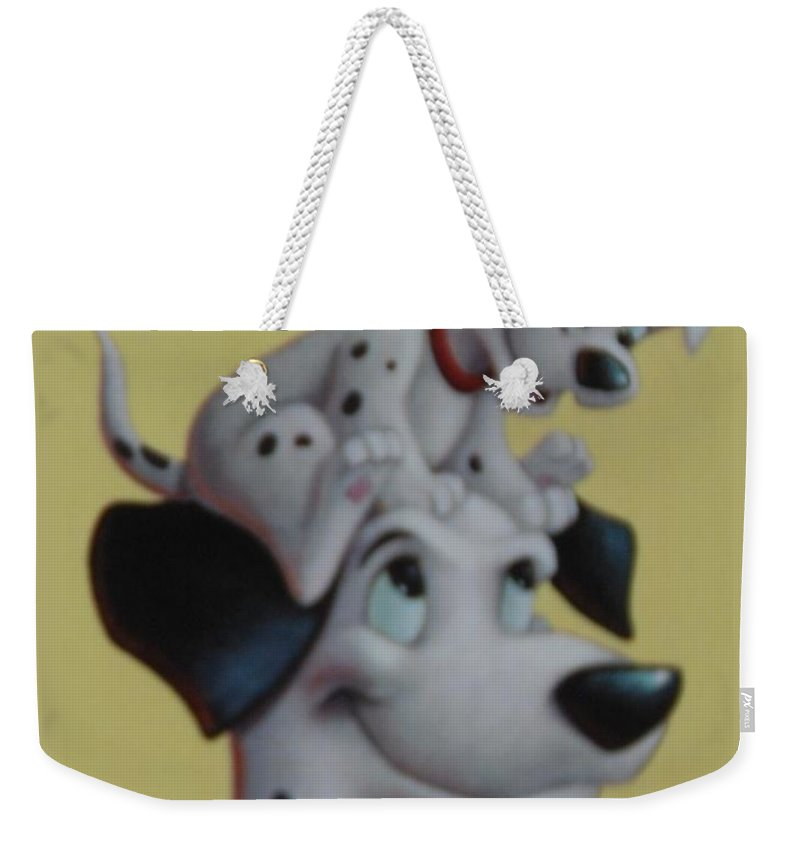 Disney Weekender Tote Bag featuring the photograph 101 by Rob Hans