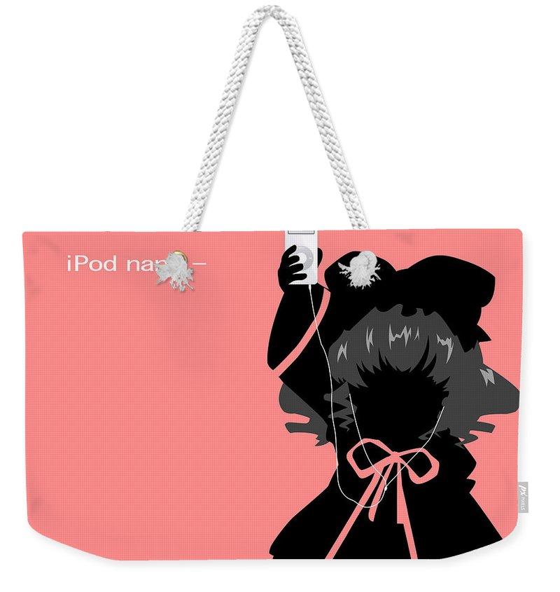 Rozen Maiden Weekender Tote Bag featuring the digital art 10968 Rozen Maiden by Mery Moon