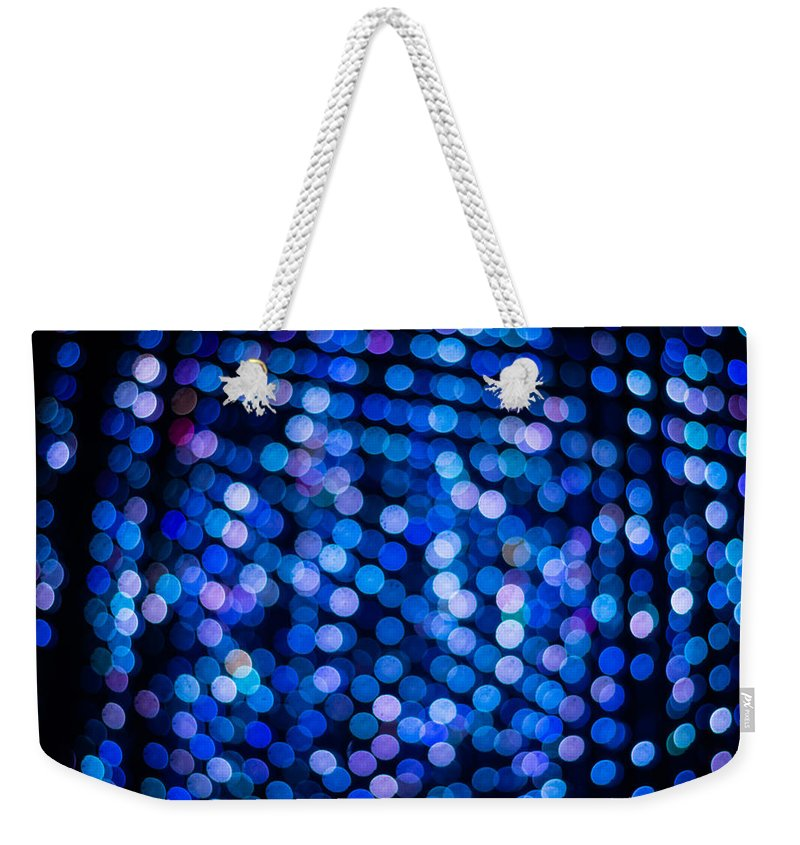 Abstract Weekender Tote Bag featuring the photograph Abstract Lights by Jijo George