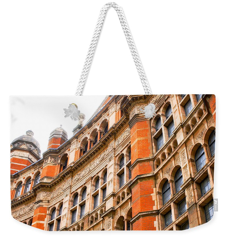 Apartment Weekender Tote Bag featuring the photograph London Building by Tom Gowanlock