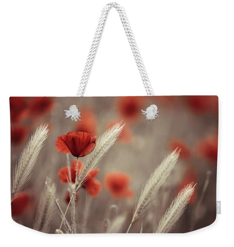 Weeds Weekender Tote Bags