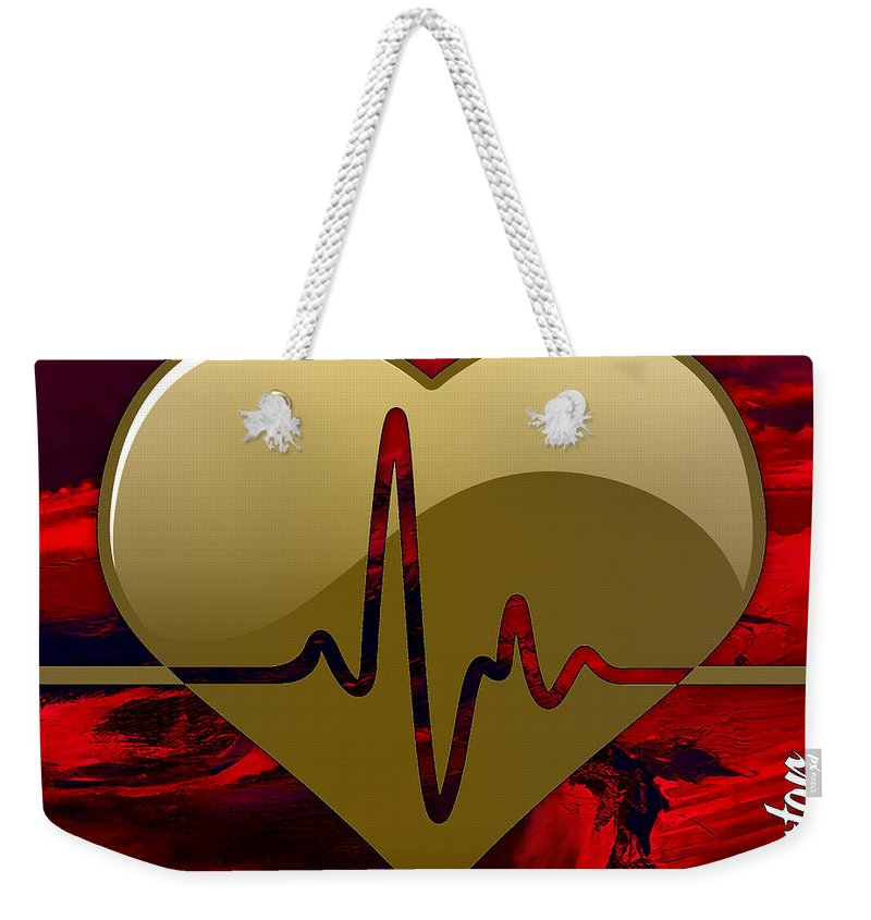 Doctor Weekender Tote Bag featuring the mixed media Doctors Collection by Marvin Blaine