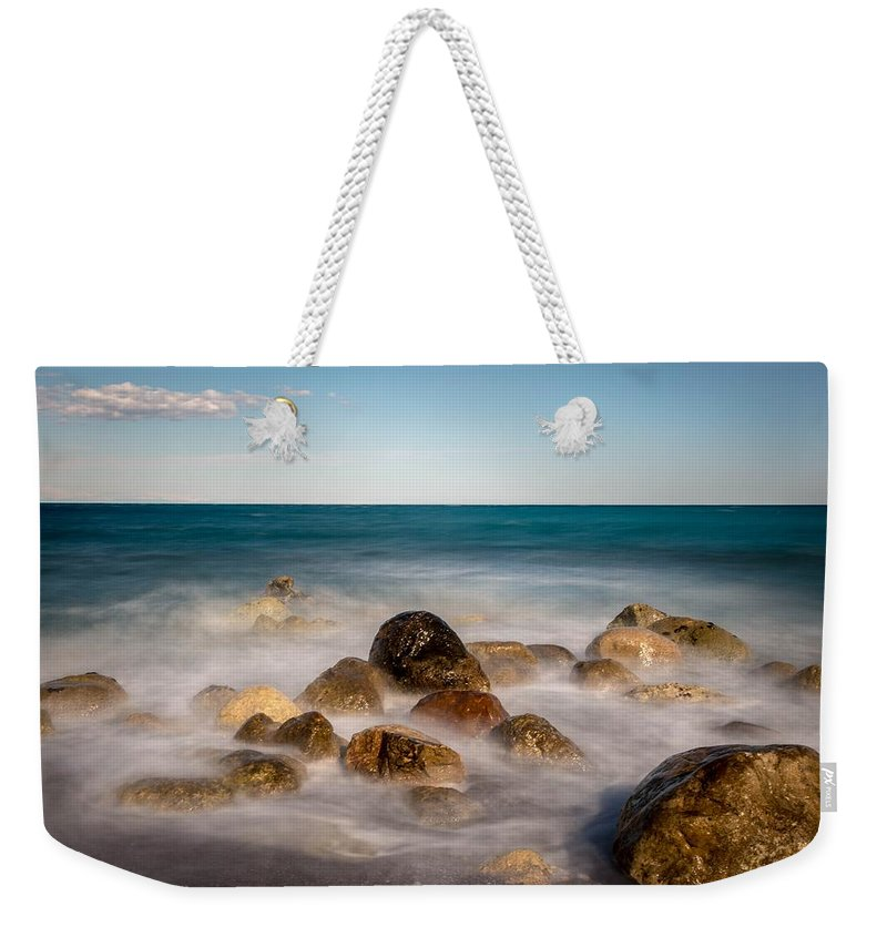 Ripples Weekender Tote Bag featuring the photograph Sea by FL collection