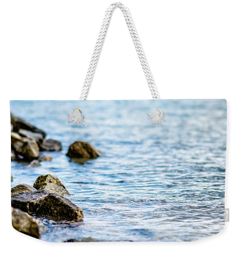 Beautiful Weekender Tote Bag featuring the photograph Beautiful Landscape Scenes At Lake Jocassee South Carolina by Alex Grichenko