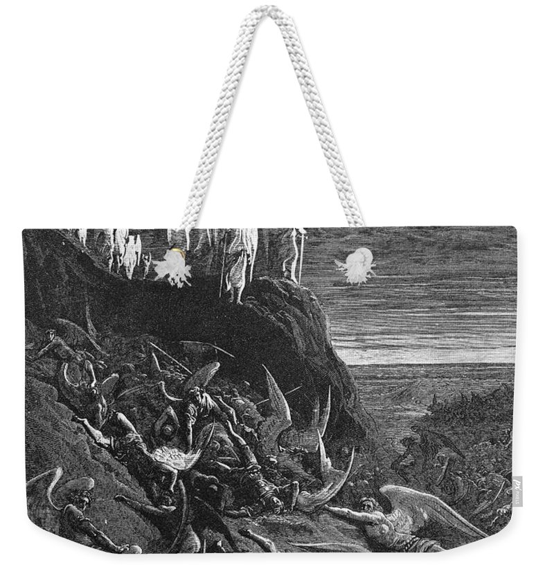 Archaeologist Weekender Tote Bag featuring the photograph Milton: Paradise Lost by Granger