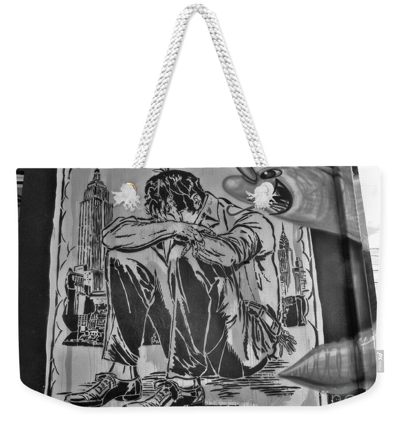 Wynwood Walls Art In And Around Miami. Weekender Tote Bag featuring the photograph Wynwood Art by Daniel Diaz
