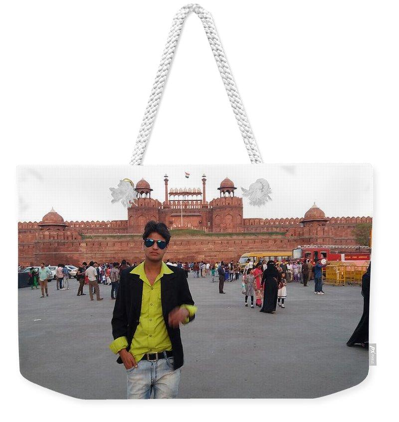 Harpal Singh Jadon Weekender Tote Bag featuring the photograph Harpal Singh Jadon by Harpal Singh jadon Jadon