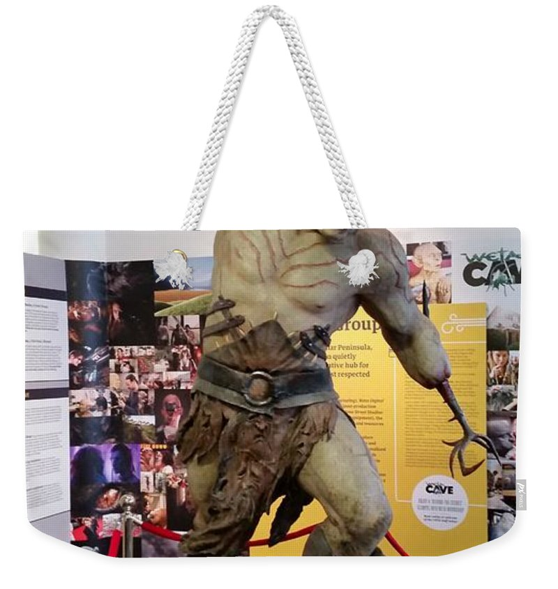 New Zealand Weekender Tote Bag featuring the photograph New Zealand - Azog, Lord Of The Rings by Jeffrey Shaw