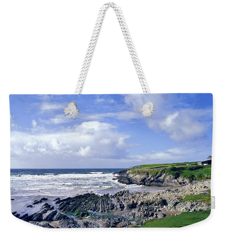 Atlantic Weekender Tote Bag featuring the photograph 174-008-ireland by David Lange