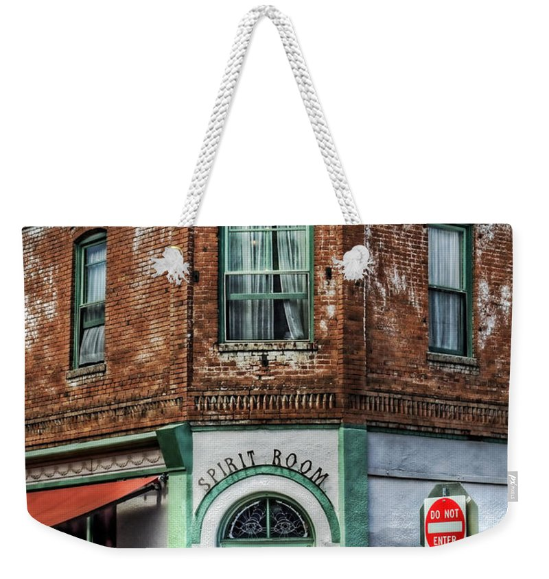 Hotel Connor Weekender Tote Bag featuring the photograph 1898 Hotel Connor - Jerome Arizona by Saija Lehtonen
