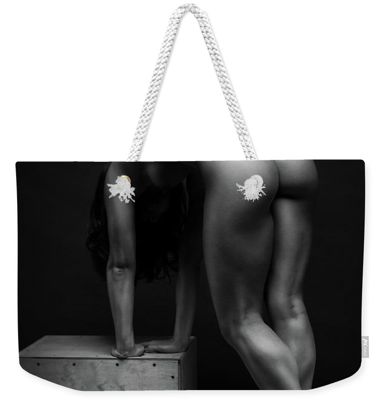 Women Weekender Tote Bag featuring the photograph Bodyscape     by Anton Belovodchenko