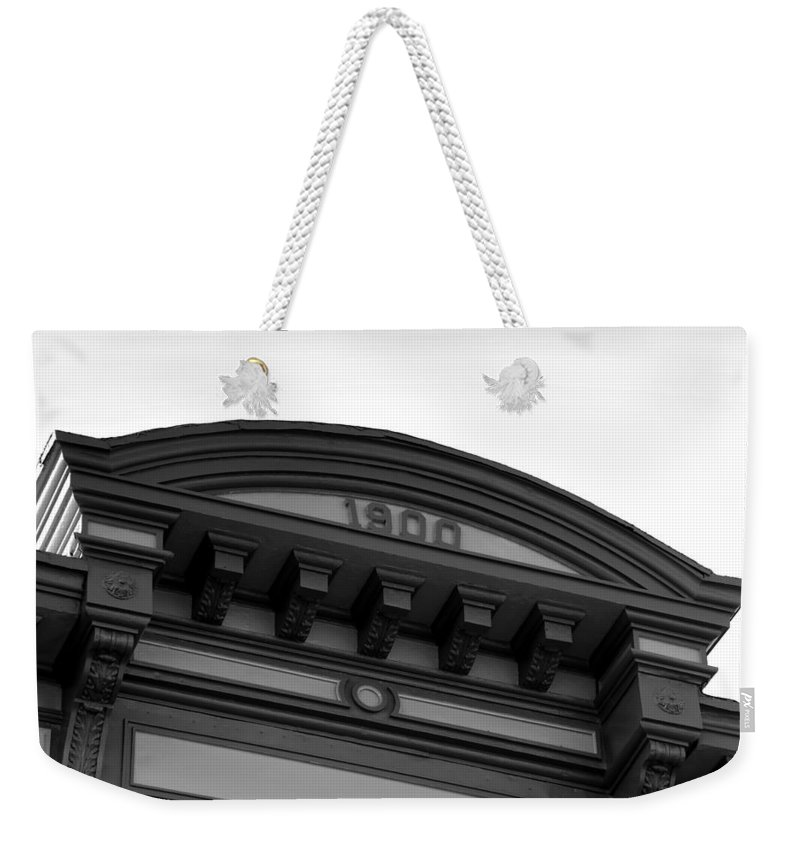 1900.architecture Weekender Tote Bag featuring the photograph 1900 by David Lee Thompson