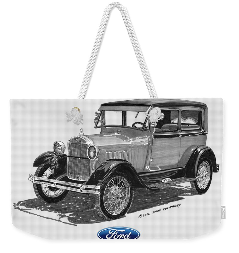 Model Weekender Tote Bags
