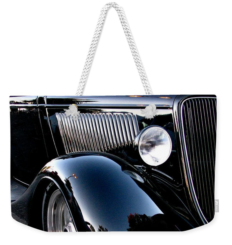 1934 Ford Coupe Weekender Tote Bag featuring the photograph 1934 Ford Coupe by Peter Piatt