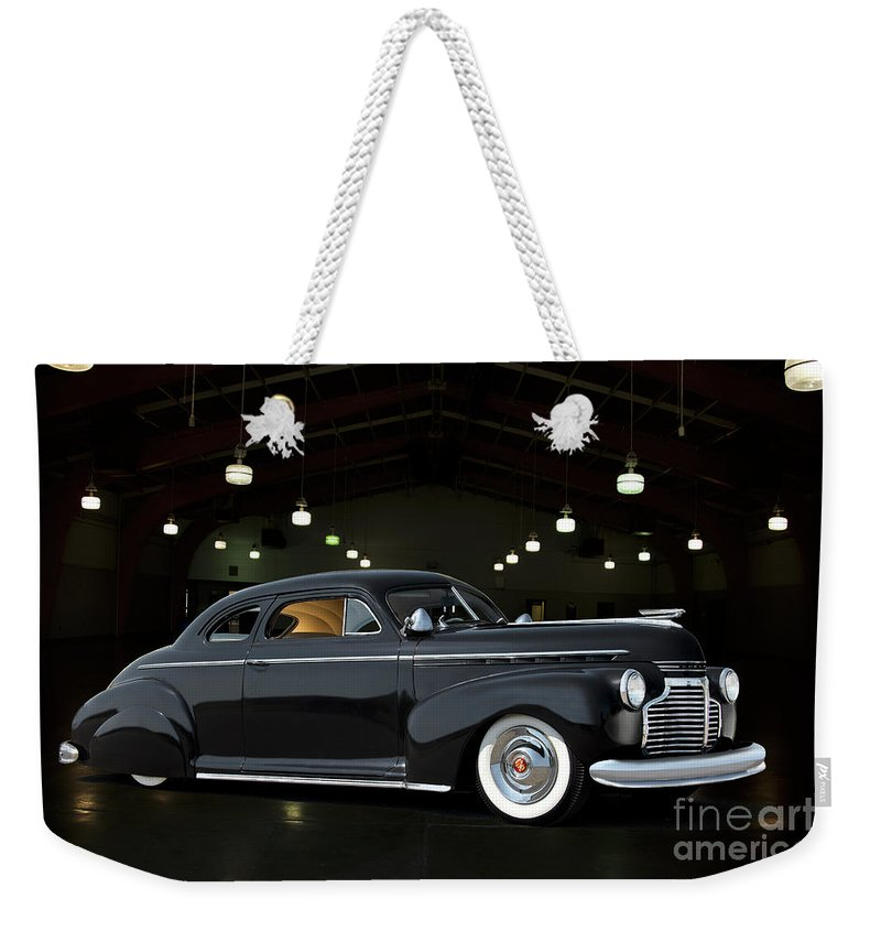 Auto Weekender Tote Bag featuring the photograph 1941 Chevrolet Custom Coupe IIi by Dave Koontz