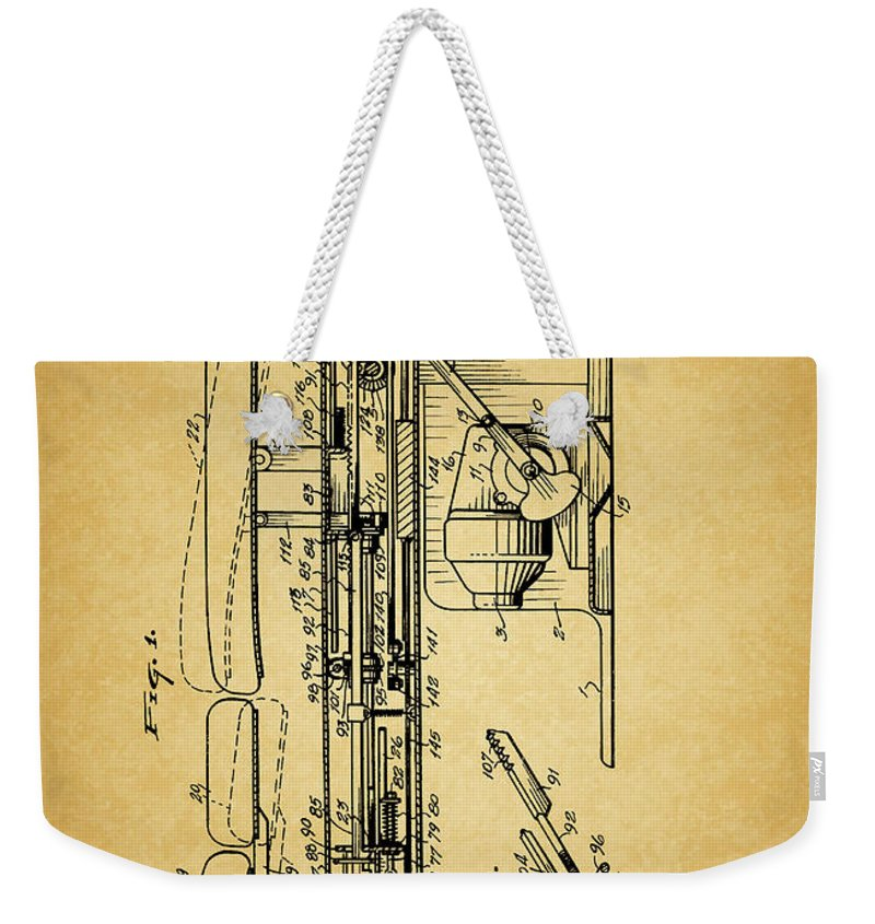Nerves Weekender Tote Bags