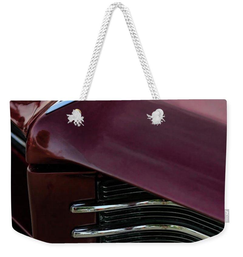 1964 Weekender Tote Bag featuring the photograph 1964 Pontiac Bonneville by Gordon Dean II
