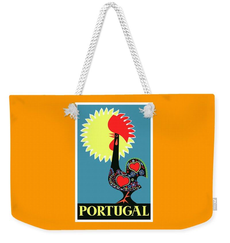 Portugal Weekender Tote Bags
