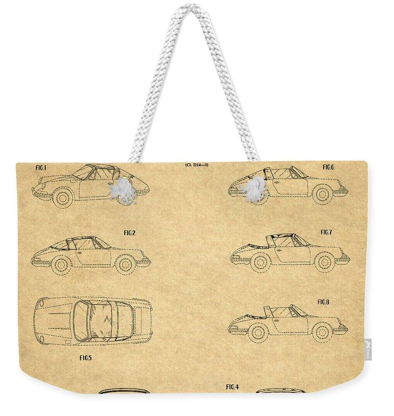 Car Interior Weekender Tote Bags