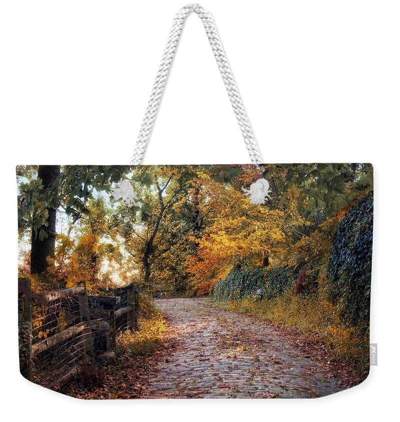 Nature Weekender Tote Bag featuring the photograph Around The Bend by Jessica Jenney