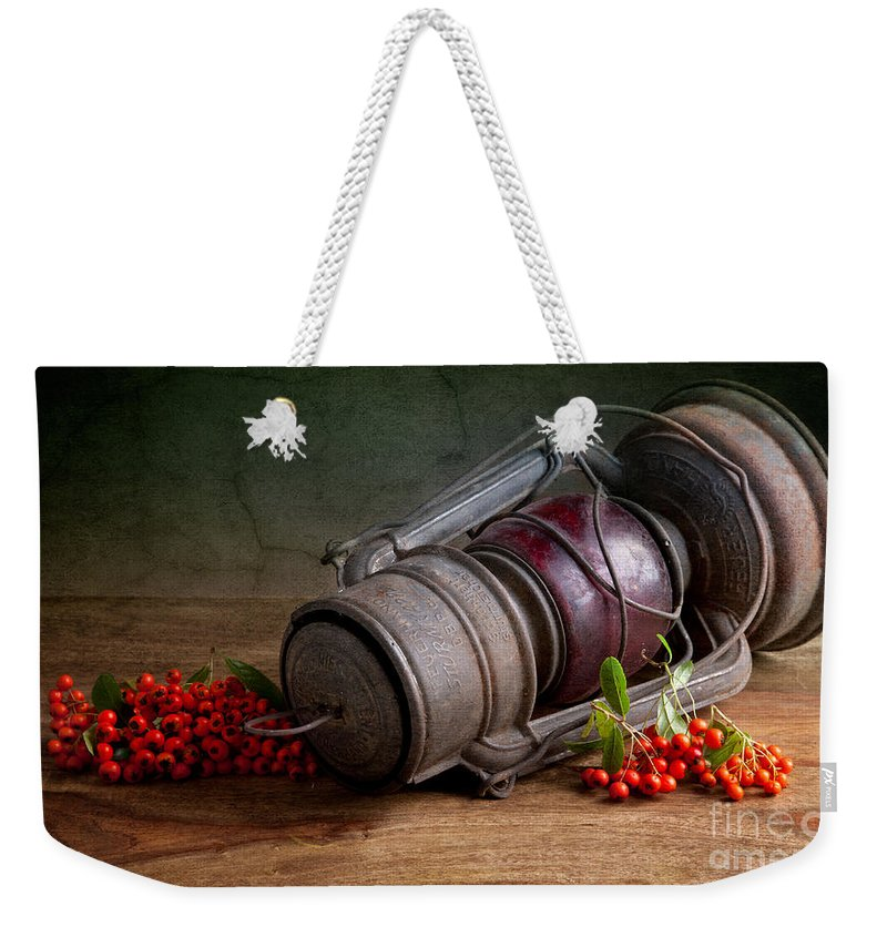 Still Weekender Tote Bag featuring the photograph Autumn Still Life by Nailia Schwarz