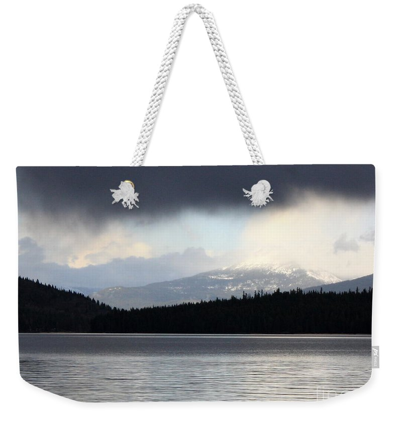Clouds Weekender Tote Bag featuring the photograph Balance In Nature by Carol Groenen