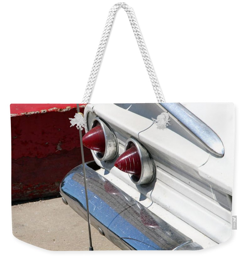 Biscayne Weekender Tote Bag featuring the photograph Biscayne by Amanda Barcon