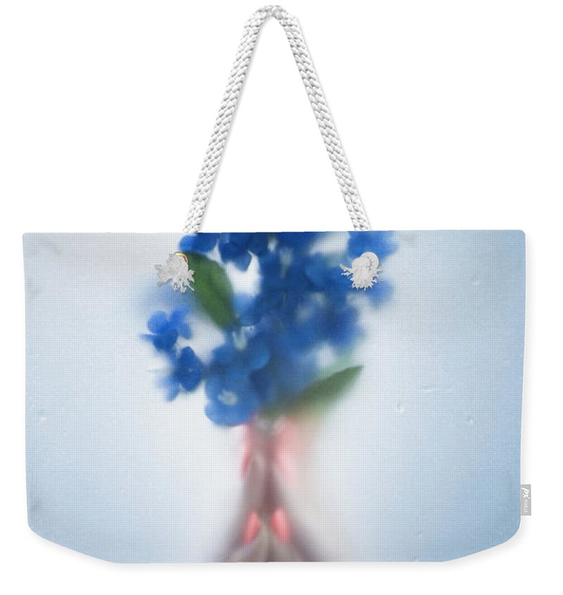 Beautiful Weekender Tote Bag featuring the photograph Blue Dream by Svetlana Sewell