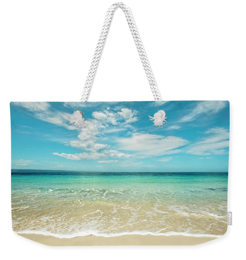Kangaroo Island Weekender Tote Bag featuring the photograph Pristine Blue Paradise by Catherine Reading