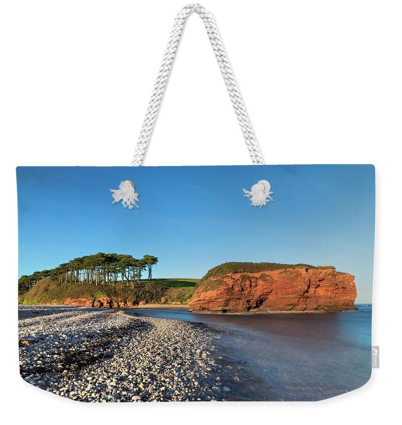 Budleigh Salterton Weekender Tote Bag featuring the photograph Budleigh Salterton - England by Joana Kruse