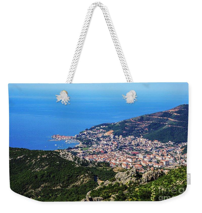 Budva Weekender Tote Bag featuring the photograph Budva, Montenegro by Ruth Hofshi