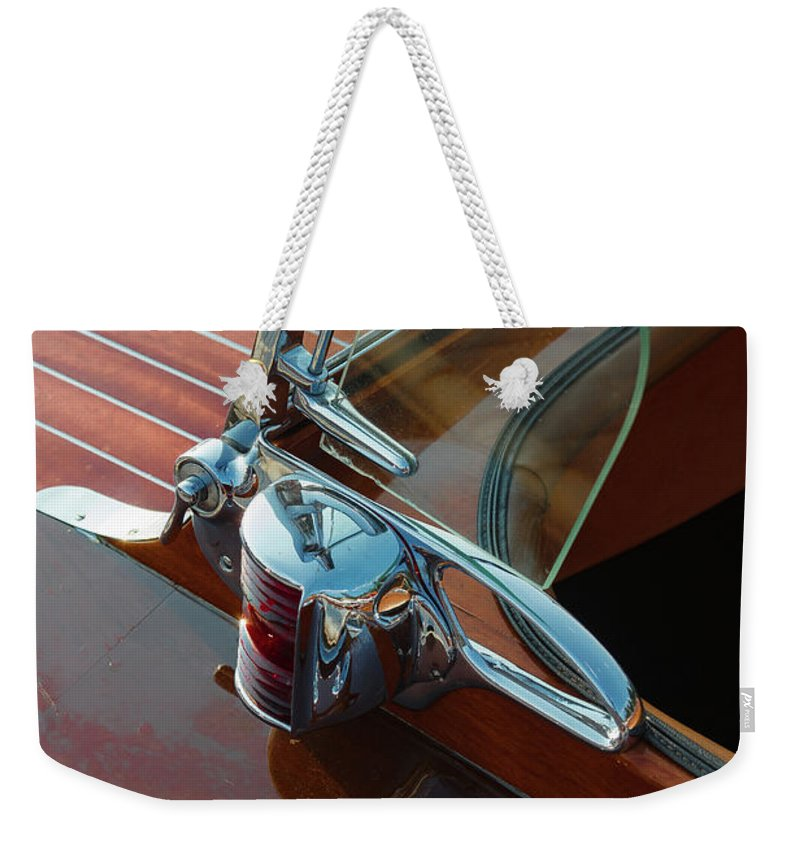 H2omark Weekender Tote Bag featuring the photograph Classic by Steven Lapkin