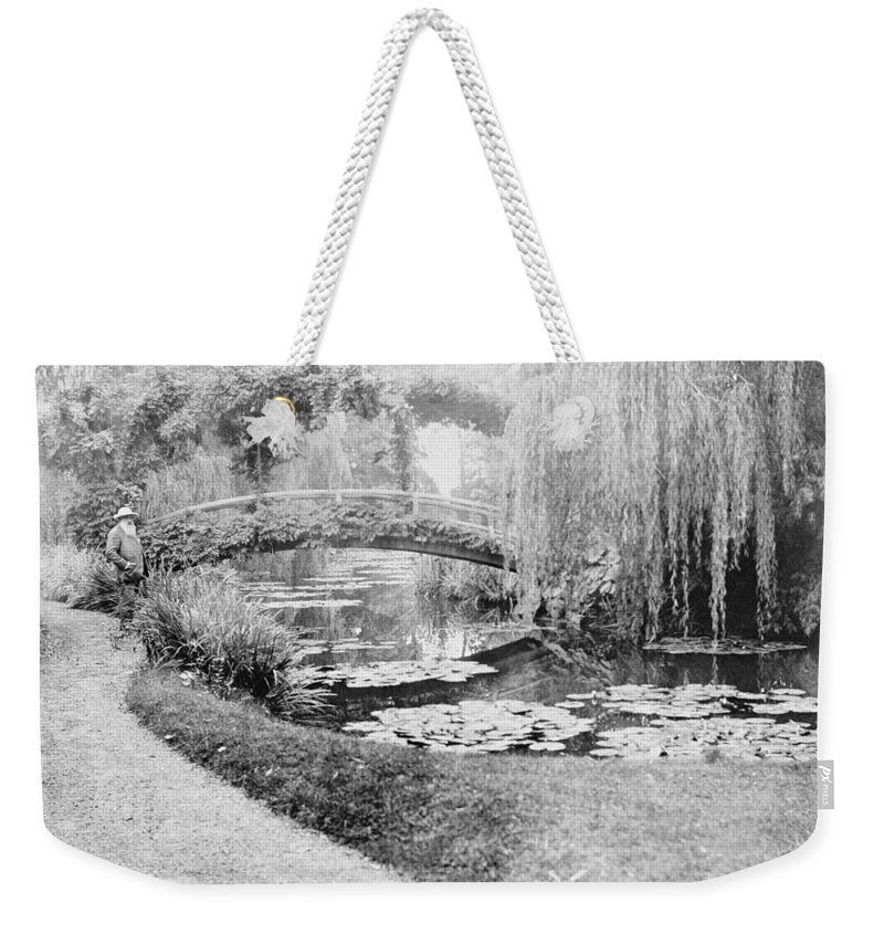 Claude Monet Photographs Weekender Tote Bags