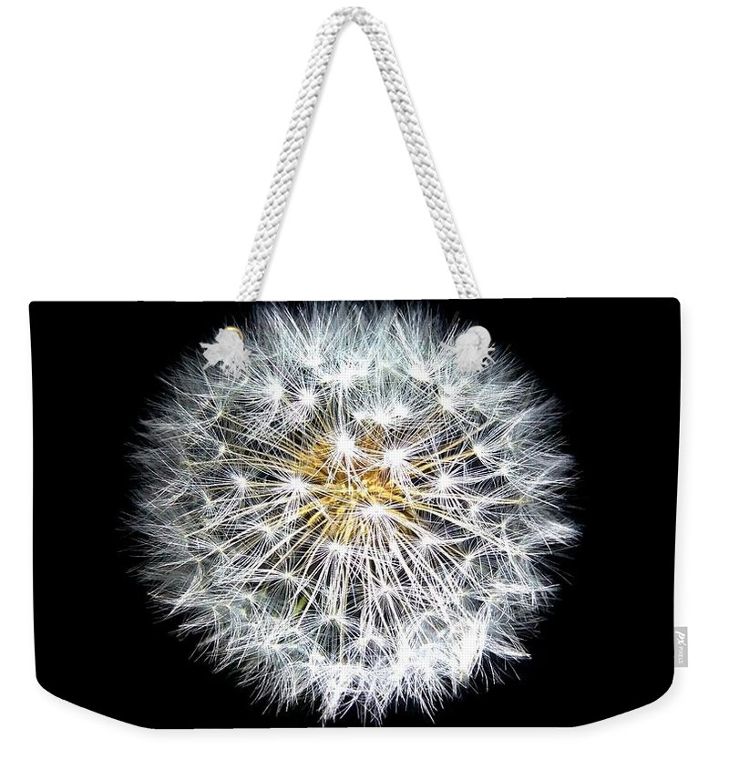 Flower Weekender Tote Bag featuring the photograph Dandelion by FL collection