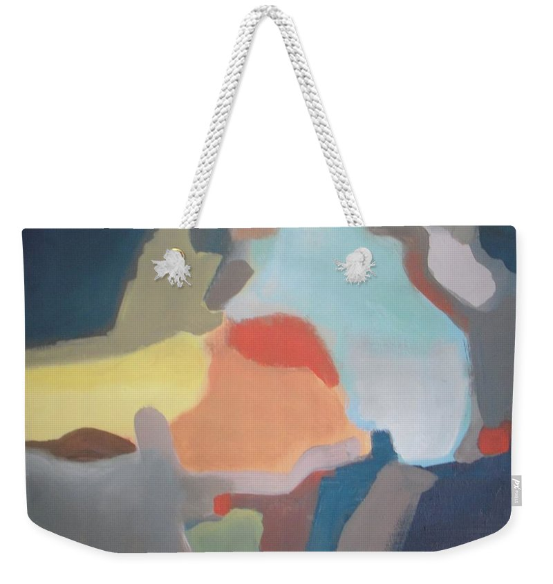 Abstract Weekender Tote Bag featuring the photograph Deja Vu by Vesna Antic