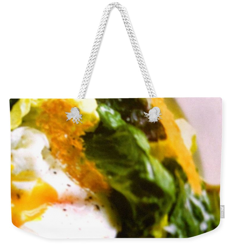 Figs Weekender Tote Bag featuring the photograph Eggs by Lord Frederick Lyle Morris - Disabled Veteran