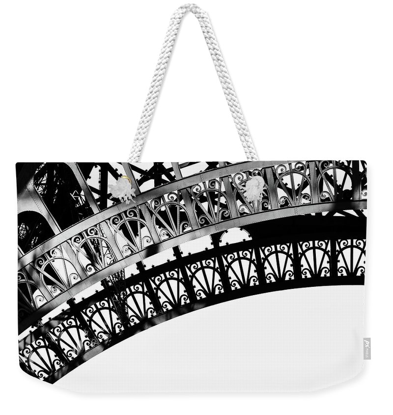 Tower Weekender Tote Bag featuring the photograph Eiffel Tower Detail by Dutourdumonde Photography