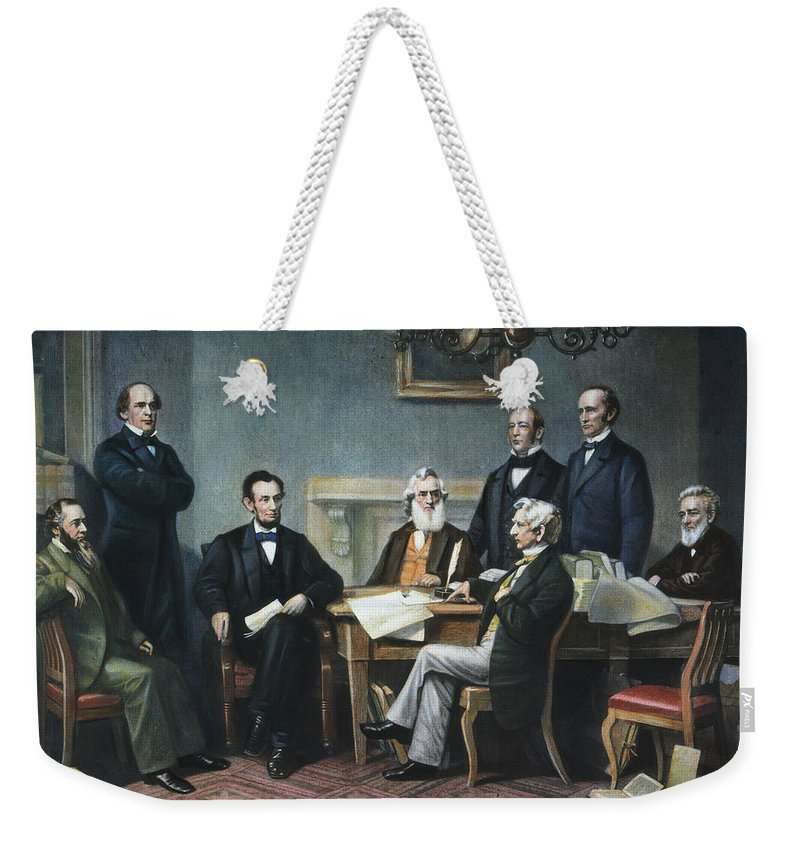 1862 Weekender Tote Bag featuring the photograph Emancipation Proclamation by Granger