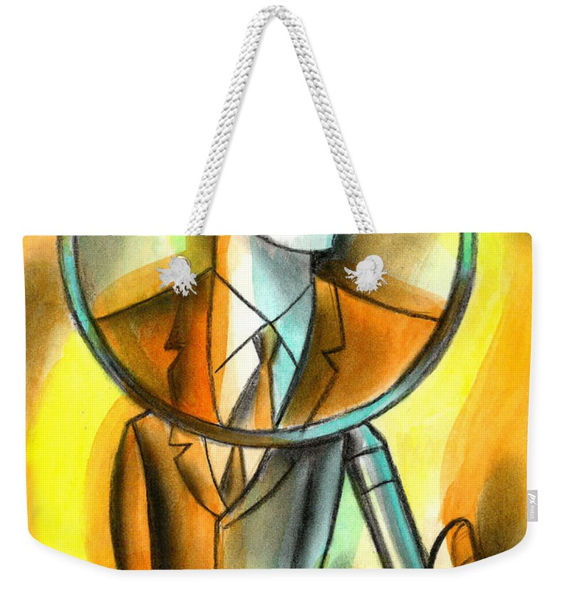 Bystander Paintings Weekender Tote Bags