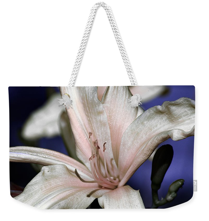 Clay Weekender Tote Bag featuring the photograph Floral by Clayton Bruster