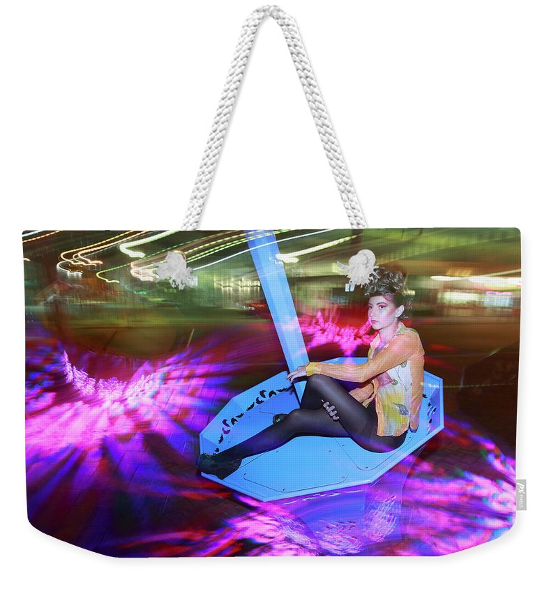 Indi Models Weekender Tote Bag featuring the photograph In The Dark N In The Light by Bharathan Kangatheran