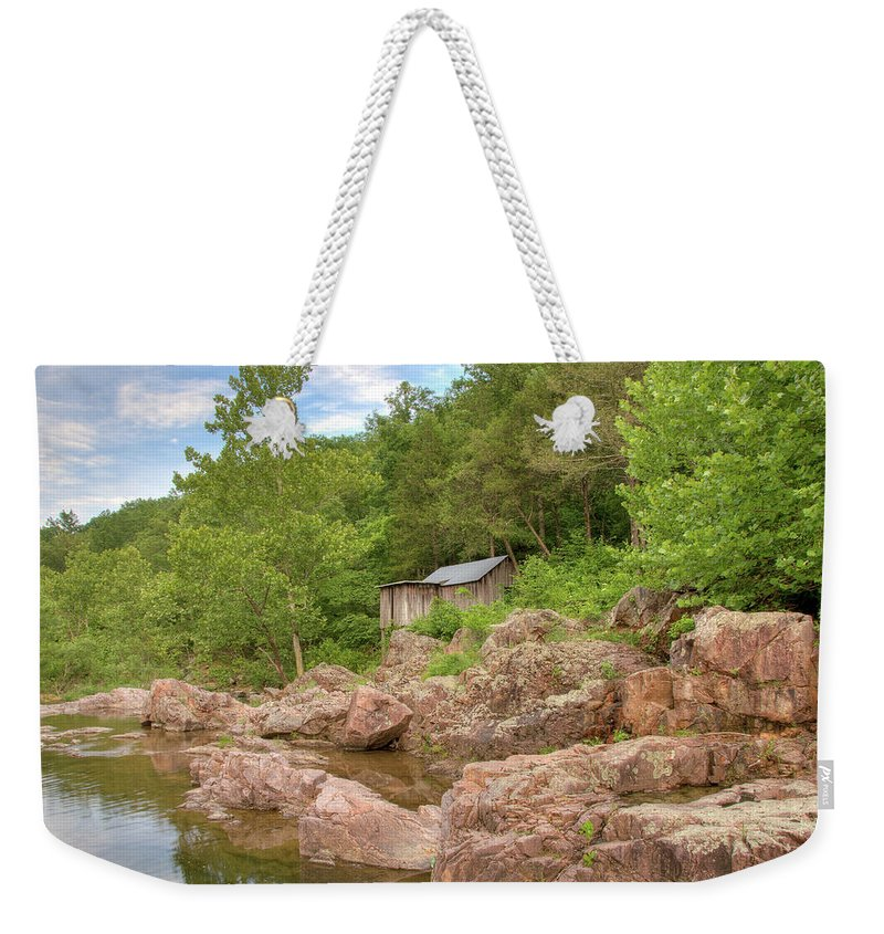 Mill Weekender Tote Bag featuring the photograph Klepzig Mill by Steve Stuller